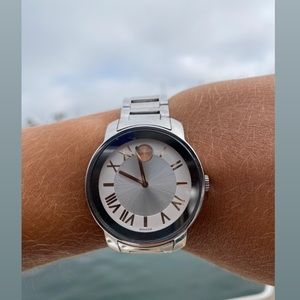 Movado Accessories - Movado Silver & Rose Gold Watch!